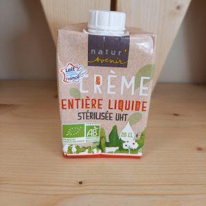 Crème entière liquide – 20 cl