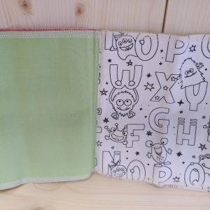 Livre de coloriage lavable «Aux Retrouvailles»