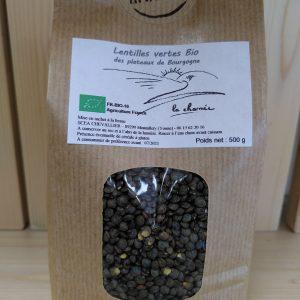 Lentilles vertes 500 g – BOURGOGNE
