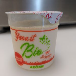 Yaourt aromatisé CITRON – 125 g – LOCAL