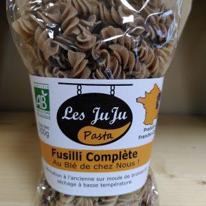 Pâtes «Juju Pasta» Fusilli complète 250 g – LOCAL