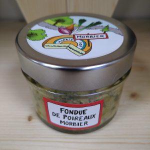 Fondue de poireaux au Morbier 90 g – LOCAL