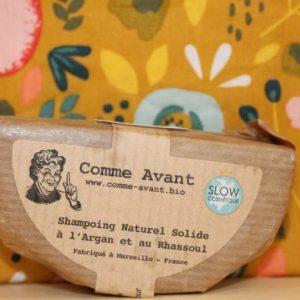 Shampoing à l'huile d'argan «Comme Avant»