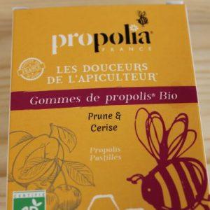 Gommes prune cerise «Propolia»