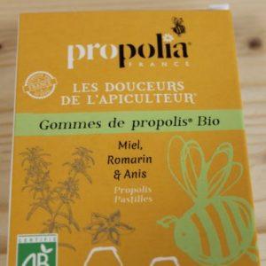Gommes Miel Anis Romarin «Propolia»
