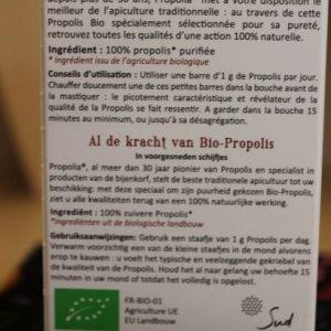 Propolis pure à mâcher «Propolia»