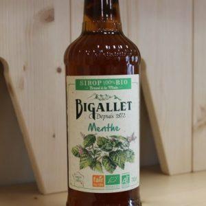 Sirop menthe»Bigallet» 70 cl (Copie)