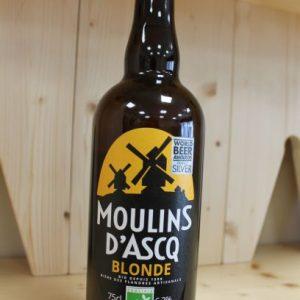 Bière Blonde «Moulin d'Ascq» 75 cl