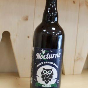 Bière Blonde «La Nocturne» 75 cl