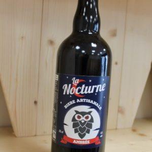 Bière Ambrée «La Nocturne» 75 cl