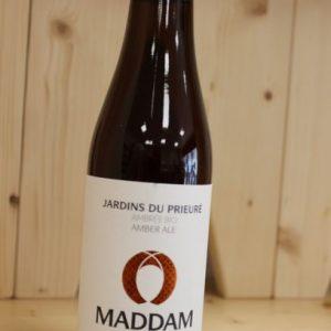 Bière Ambrée «Maddam» 33 cl