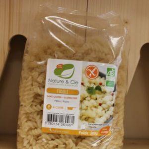 Pâtes sans gluten  80 % riz 20 % maïs 500 g