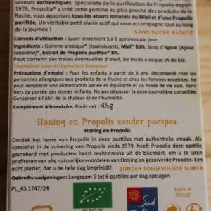 Gommes miel et propolis «Propolia»