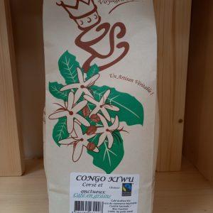 Café grains Congo 500 g – Torréfié dans l'AIN