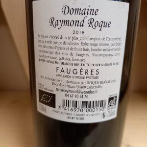 FAUGERES – 75cl – Vin Rouge