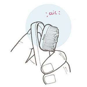 Brosse A Dent Rechargeable – Souple – WAX Jaune