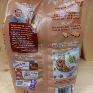 Les Fourrées Bio au beurre de cacahuète et CACAO – 250g – FRANCE – sans gluten
