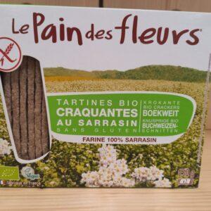 Tartines au Sarrasin – Pain des Fleurs