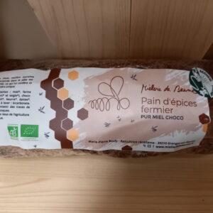 Pain d'épices miel et chocolat – JURA !!!