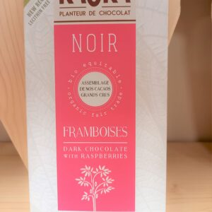 Tablette Chocolat Noir – Framboise !!