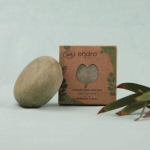 SHAMPOING SOLIDE – Vert – ENDRO – Environ 40 utilisations !